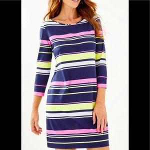 Lilly Pulitzer Marlowe T-shirt Mixed Stripe Dress